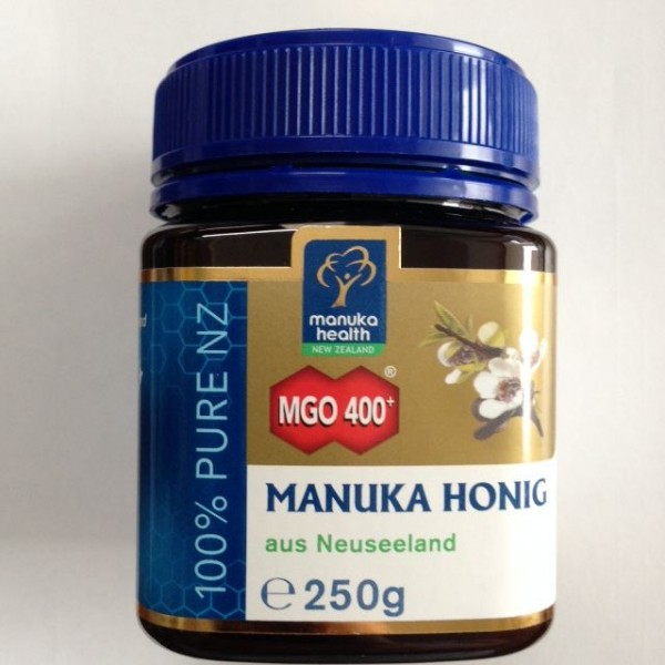 manuka honig mgo 400 aus neuseeland 250g honig lebensmittel natur only. Black Bedroom Furniture Sets. Home Design Ideas