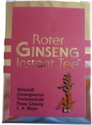Roter Ginseng Instant Tee