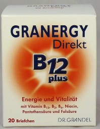Dr. Grandel Granergy Direkt B12 plus, 20 Briefchen