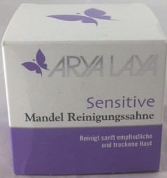Arya Laya Sensitive Mandel Reinigungssahne, 100 ml