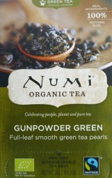 Numi Tee Gunpowder Green